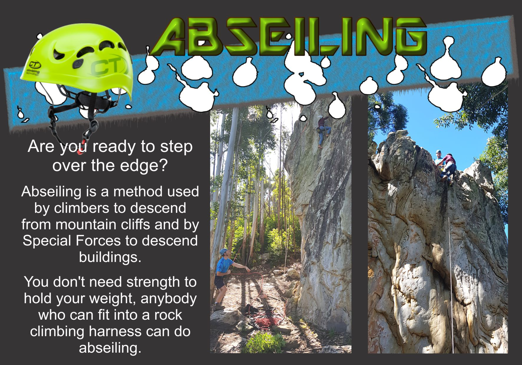 6 Abseiling